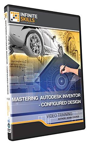 Mastering Autodesk Inventor - Configured Design - Training DVD by Infiniteskills
