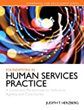 Foundations in Human Services Practice : A Generalist Perspective on Individual, Agency, and Community, Herzberg, Judith T., 0205858252