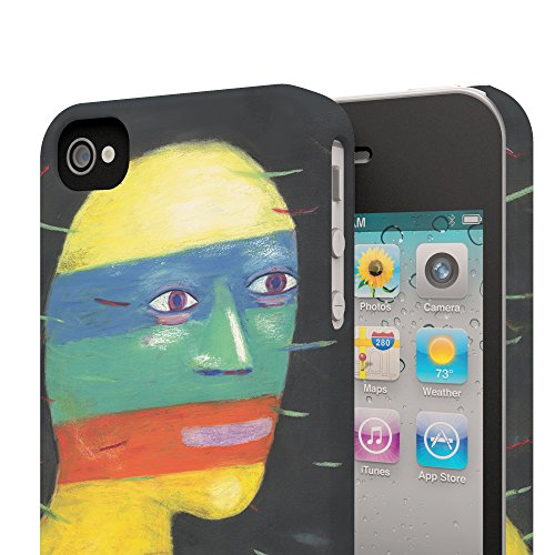 Koveru Back Cover Case for Apple iPhone 4/4S - No words to say