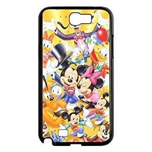 Samsung Galaxy Note 2 N7100 Cases Cell phone Case Dntjd Mickey Mouse Plastic Durable Cover