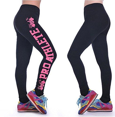 JIASHA Entrenamiento de mujeres Leggings Fitness Deportes Running Yoga Athletic 2