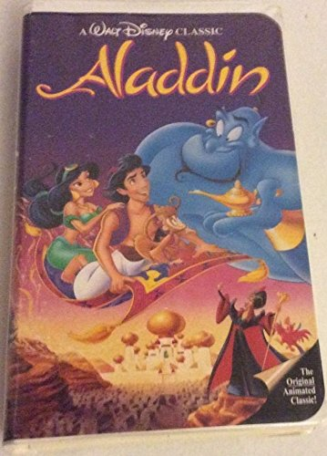 Aladdin - Walt Disney BLACK DIAMOND COLLECTIBLE #1662 (VHS, 1993) by Aladdin/Disney