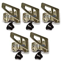 Eztronics Corp® 5x Belt clip Hook free Screw for Milwaukee M18 FUEL Impact Driver Hammer Drill