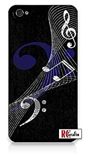 iphone covers Hip Hipster (Musical) Music Notes band Direct-To-Case Printed (NOT A STICKER) iPhone 6 plus Quality Hard Snap On Case for Iphone 6 plus 4G - AT&T Sprint Verizon - Black Frame