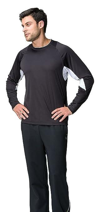 d39711d3 Amazon.com: Fila Men's Core Long Sleeve Lightweight Comfort T-Shirt ...