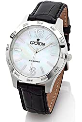 CROTON 36 Diamond Mother of Pearl Dial Watch