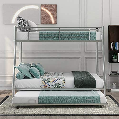 Low Bunk Beds Twin Over Full Size