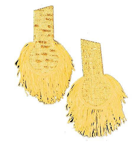 Gold Epaulettes Costume (Epaulettes Gold Pair)