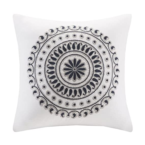 Ink+Ivy Fleur Embroidered Square Pillow -  - living-room-soft-furnishings, living-room, decorative-pillows - 518AiPeHjdL. SS570  -