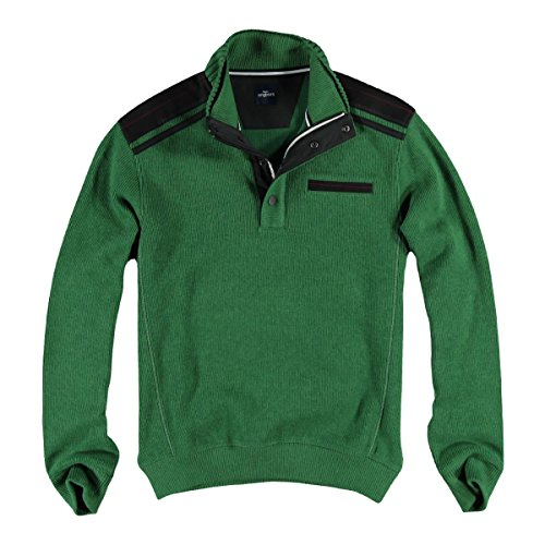engbers Herren Sweatshirt Stehbund, 24688, Grün ...