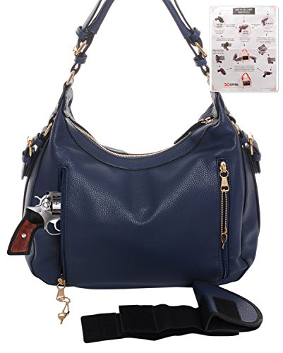 Concealed Gun Blue Carry Key Hobo Wallet Emperia Lock Outfitters amp; Chloe rrRxqnB