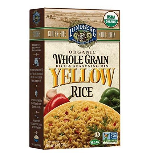 Lundberg Mix Rice Whole Green Yellow Organic, 6 oz