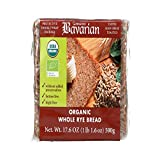 Bavarian Breads B34820 Bavarian Organic Whole Rye Bread -6x17.6oz