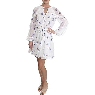 Amazon.com  Juicy Couture Black Label Womens Flirty Chiffon Printed Party  Dress  Clothing ec01b65b3