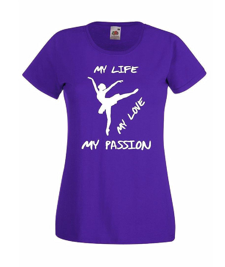 T-Shirt Maglietta Danza Classica My Life Bambina