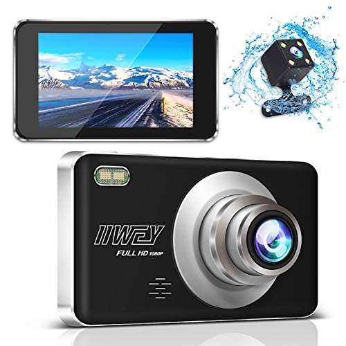 Dash Camera for Cars Front and Rear, 108