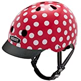 Nutcase Street Bike Helmet, Fits Your Head, Suits Your Soul - Mini Dots, Medium