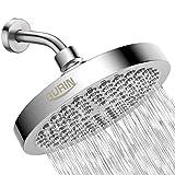 Gurin Rain Shower Head High Pressure Spa System, Luxury Bathroom Showerhead with Chrome Plated...