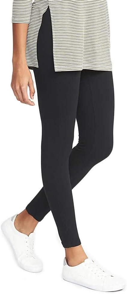 W&TT Leggings de Alta Cintura de algodón de Mujer 14+ Color Súper ...