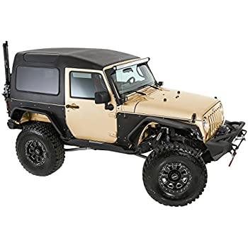 smittybilt 517701 hard top for jeep jk 2 door 2 piece automotive. Black Bedroom Furniture Sets. Home Design Ideas