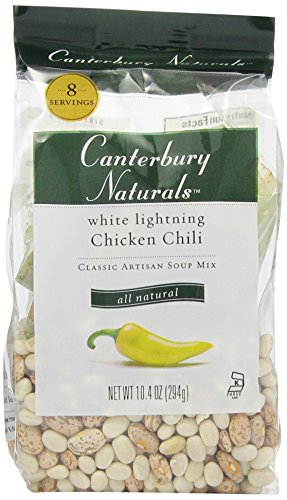 Canterbury Naturals White Lightning Chicken Chili Mix, 10.4-Ounce Bags (Pack of 6)