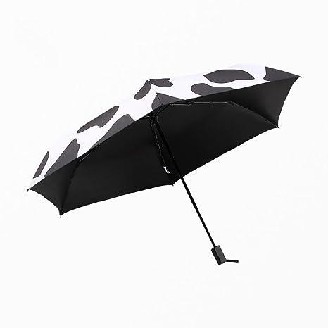 BiuTeFang Paraguas Paraguas vinilo paraguas plegable ...