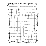 """ABN Cargo Net with Nylon Hooks, 72"""" x 96"""" Inch for Trailers, Pickup Trucks, Rooftops, & More – Heavy-Duty, Multi-Purpose"""