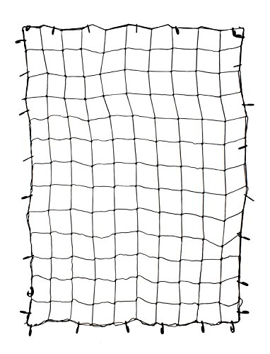 "Nylon Cargo Net (ABN Cargo Net with Nylon Hooks, 72"" x 96"" Inch for Trailers, Pickup Trucks, Rooftops, More – Heavy-Duty, Multi-Purpose)"