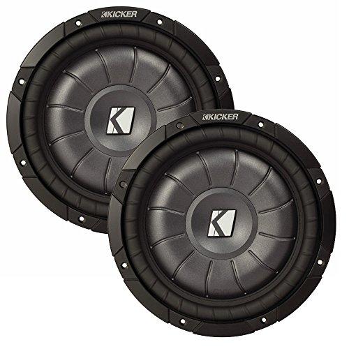 Kicker 10 CVT package Two Kicker 10CVT102 10 Inch 2 ohm Comp