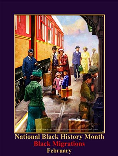 (2019 Black History Month Poster Black Migrations (B19))