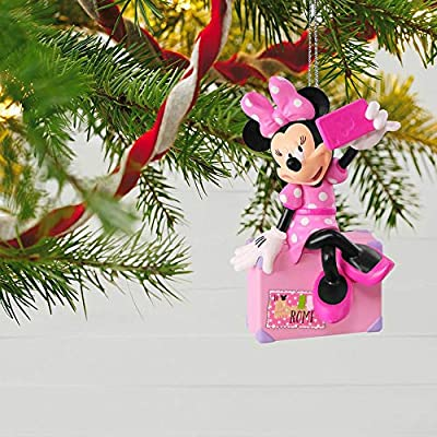Hallmark Keepsake Christmas Ornament 2018 Year Dated, Disney Minnie Mouse Snappin' a Selfie