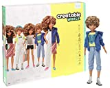 Creatable World inspires all kids to get creative with doll play -- Deluxe Character Kits provide a blank canvas along with the pieces to create unique characters, over and over again! The 11-inch (29.94-cm) doll wears a tank and shorts, has a short ...