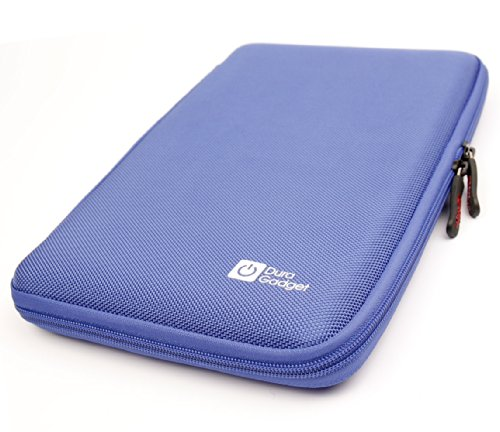 DURAGADGET Blue Armoured Shell Case Compatible with Vtech InnoTab 3