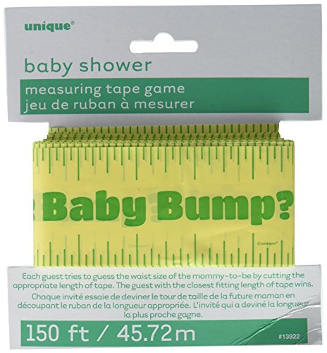 150ft Baby Shower Bump Measuring Tape Game ()