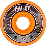 Hi-Fi Livewire 52mm Orange Swirl Superthane Wheels (Set of 4)