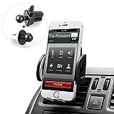 BUDGET & GOOD Universal Smartphones Car Air Vent Mount Holder Cradle, Black