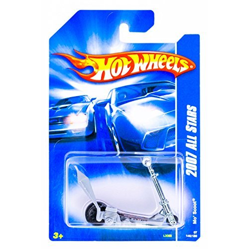 Hot Wheels 2007 All Stars Mo' Scoot #145/180 1:64 Scale