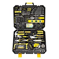 Amazon.com deals on DEKOPRO 168pcs Socket Wrench Auto Repair Tool Kit