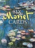 Six Monet Cards, Claude Monet, 0486403866