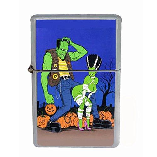 (Frankenstein Bride Modern Sexy Dual Torch Lighter D-162)