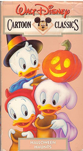 Walt Disney Cartoon Classics: Halloween Haunts [VHS] -