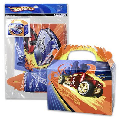 4pc-paper-hot-wheel-treat-box-with-handle