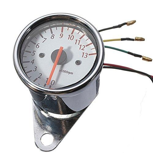 DLLL Universal Mechanica Tachometer Motorcycle