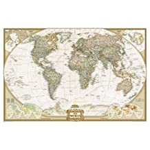World Executive Wall Map (Laminated)