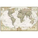 World Executive [Laminated] (National Geographic Reference Map)