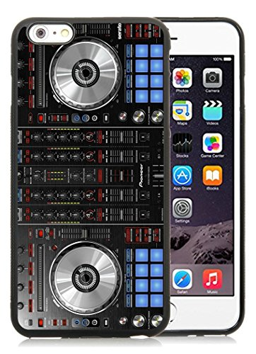 Case for Apple Iphone 6 Plus,Iphone 6S Plus Case,Pioneer DJ Mixer Deck Controller iPhone 6S Plus 5.5 inches Screen TPU Shell Case - Black TPU Case