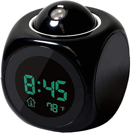 Amazon.com: Proyector de logotipos – Reloj despertador de ...