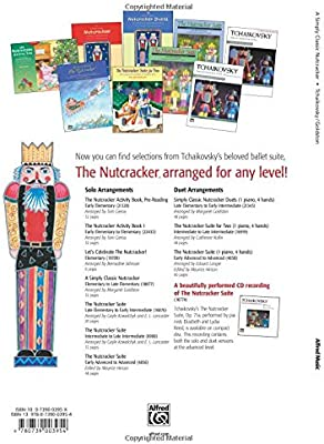 Simply Classic Nutcracker Duets: For Late Elementary to Early Intermediate Pianists