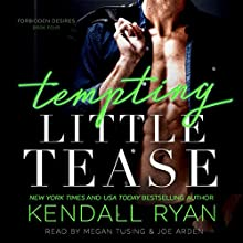 Tempting Little Tease Audiobook by Kendall Ryan Narrated by Megan Tusing, Joe Arden