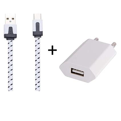 Shot Case Cargador Adaptador USB para LG K10 4 G Smartphones ...